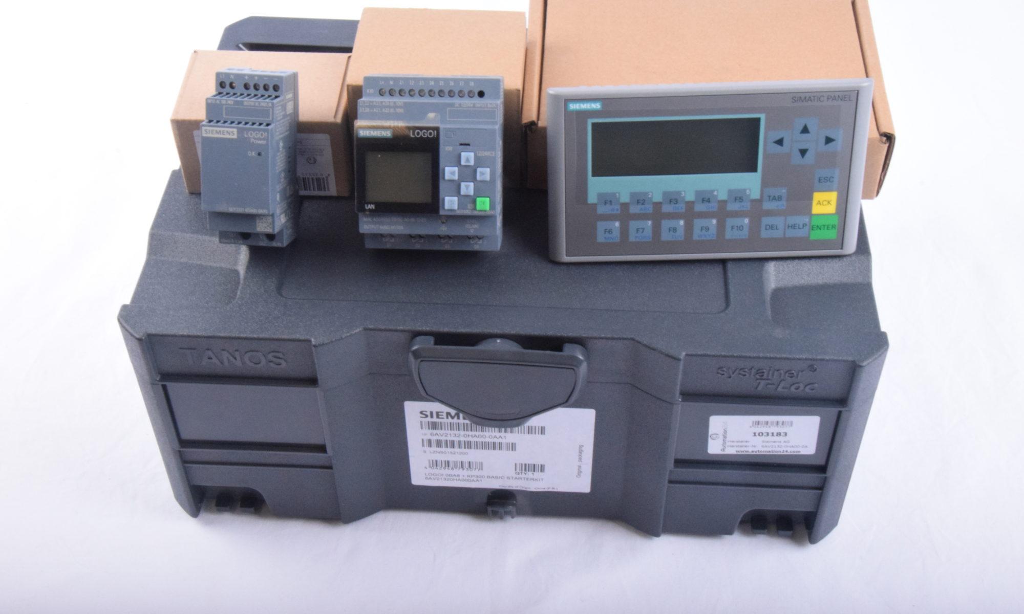 Siemens LOGO! SPS Starterkit mit KP300